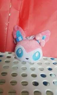 Sylveon Keychain plush Pokemon Small