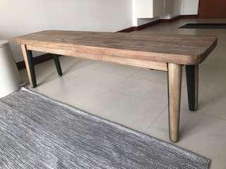 Wooden Dining Bench for sale (150 cm)