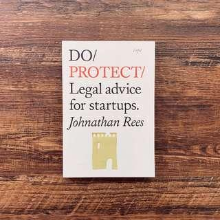 🚚 Do Protect: Legal advice for startups by Johnathan Rees