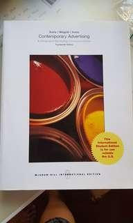 Mcgraw Hill Contemporary Advertising & Integrated Marketing Communications Textbook