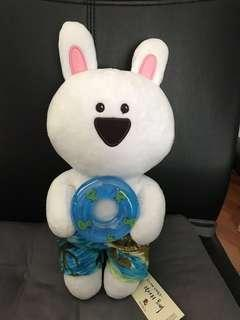 BNWT overreaction rabbit plush