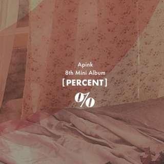 APINK - PERCENT %