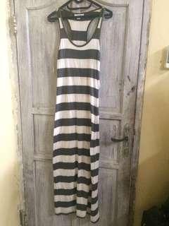 REPRICE Forever21 Sleevelessdress stripe