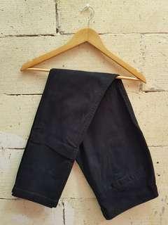 Old Navy black jeans / jeans hitam size 32
