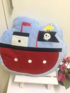 Decorating pirate pillow