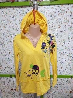 Y&F Yellow Hoodie