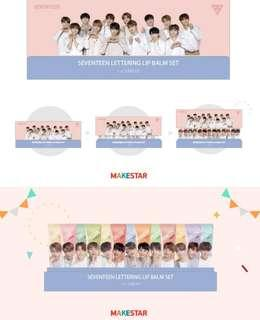 The Saem x SEVENTEEN Lip Balm Set