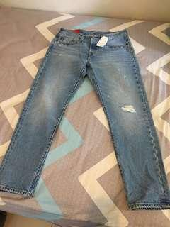Levi's 501 tapperes jeans