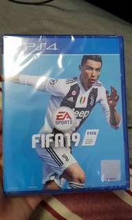 UNOPEN SEALED FIFA19 PS4 GAME SELLING CHEAP