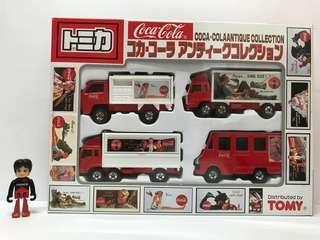 🚚 Tomica Coca-Cola Antique Collection Box Set