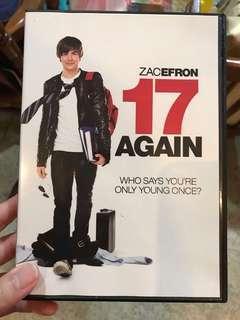 17 Again DVD (Original)