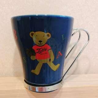 杯子 咖啡杯 水杯 飲料杯 熊熊杯
