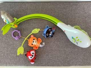 Fisher Price Woodlands 3-in-1 musical baby mobile