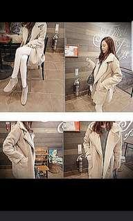 Winter Autumn Trench Coat Outer Jacket Wear