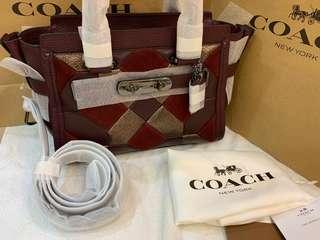 (Clearance)Authentic coach medium swagger limited 27cm swagger