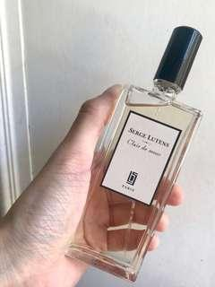 [almost new] Authentic Serge Lutens 50ml Clear Musk