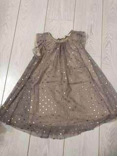 🚚 H&M 女童洋裝 連身 婚禮 花童 晚會表演 只穿一次