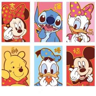 Red Packet Angbao Ang Bao - Disney Cartoon
