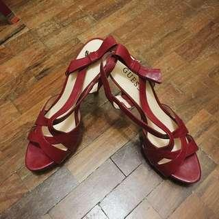 REPRICED Guess Red Heels