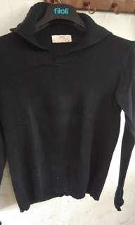XDYE Black Sweater