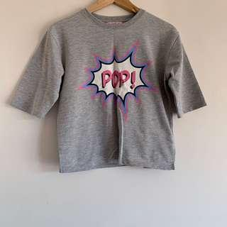 Pop sweat shirt