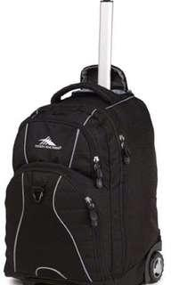 Freewheel - Wheeled Backpack - Black : High Sierra