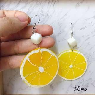 Korean Ulzzang Lemon earring