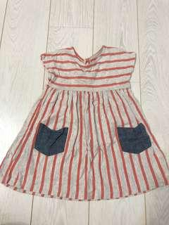 🚚 GAP 女童長上衣 洋裝 純棉 專櫃購入 9成新