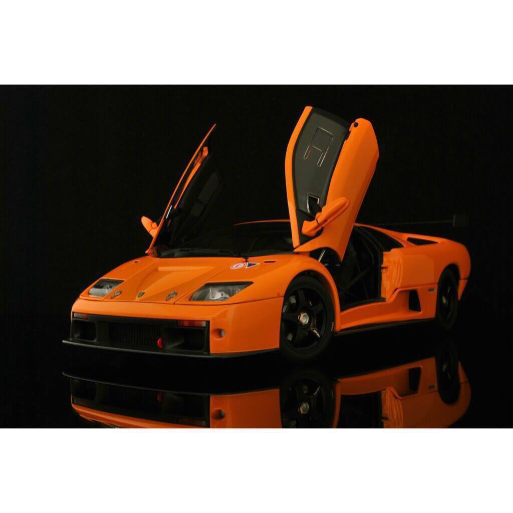 1 18 Lamborghini Diablo Gtr Orange Autoart Toys Games Others On