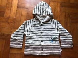 BN Japanese baby hoodie sweater for size 90 - 13kg