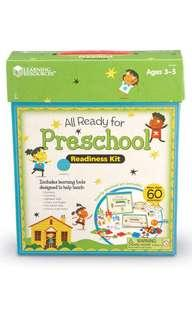 Learning Resources Preschool Readiness Kit (Brand New)
