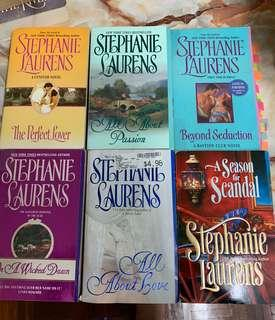 Stephanie Laurens Romance books