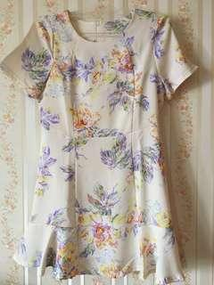 Dress Dusty Pink Floral size S-M