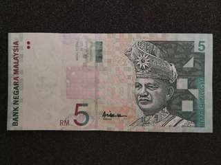 RM5 series10 signed by A.Hassan1999