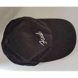 🚚 Fun, Groovy, Stylish Fashion, FCUK French Connection Designer Cap UK, Black, Glittering FCUK design, Blink Blink Style, Street Fashion, Daily Wear, Iconic, Absolutely Fabulous