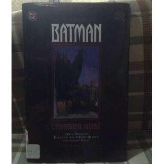 Batman: Crimson Mist HC