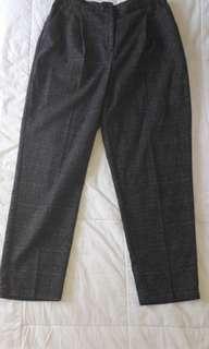 MONKI GREY ANKLE PANTS