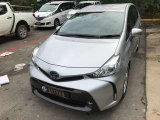 Toyota Prius Alpha 1.8 Hybrid(7 Seater)