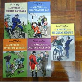 Enid Blyton Five Find-Outers Series (Book 1, 2 and 4-6)