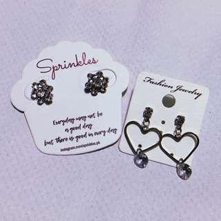 Earrings - Take All Two!