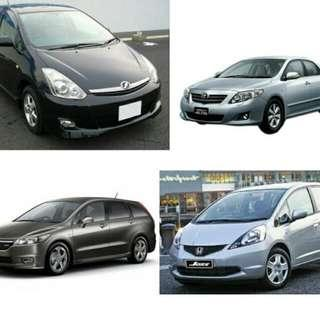 Vehicle Rental For PHV/Personal Usage