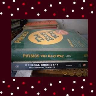 Physics and Chemistry College Books