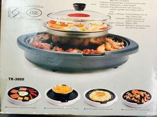 [For rent] Takada Teppanyaki and Steamboat (2-in-1)