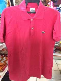 T-shirt Polo LACOSTE Made In Peru