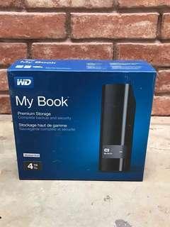 Western Digital WD Storage Book 4TB
