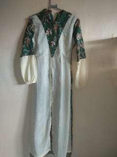 Gamis Batik sifon