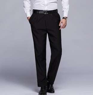 Korean style slim fit pants