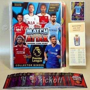 Match attax 2018/19