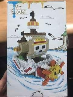 海盜王立體迷你logo