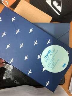 Leather Travel Wallet (ORI PRICE SG$99.90)